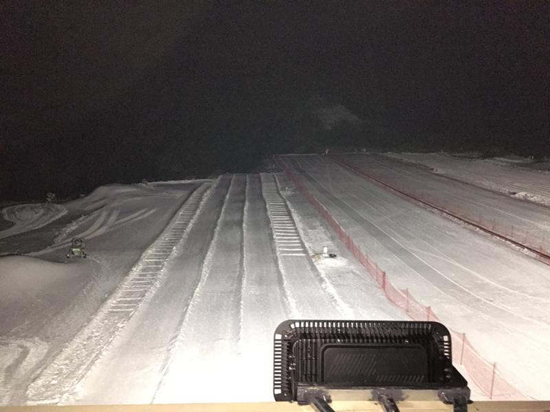 野三坡滑雪场顺利竣工