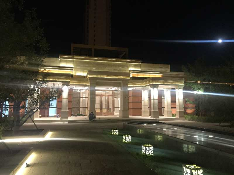 恒大御庭售楼中心楼体亮化