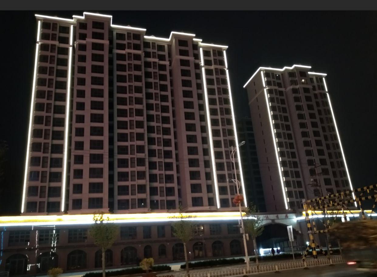 瑞达秀居项目临街楼宇亮化工程
