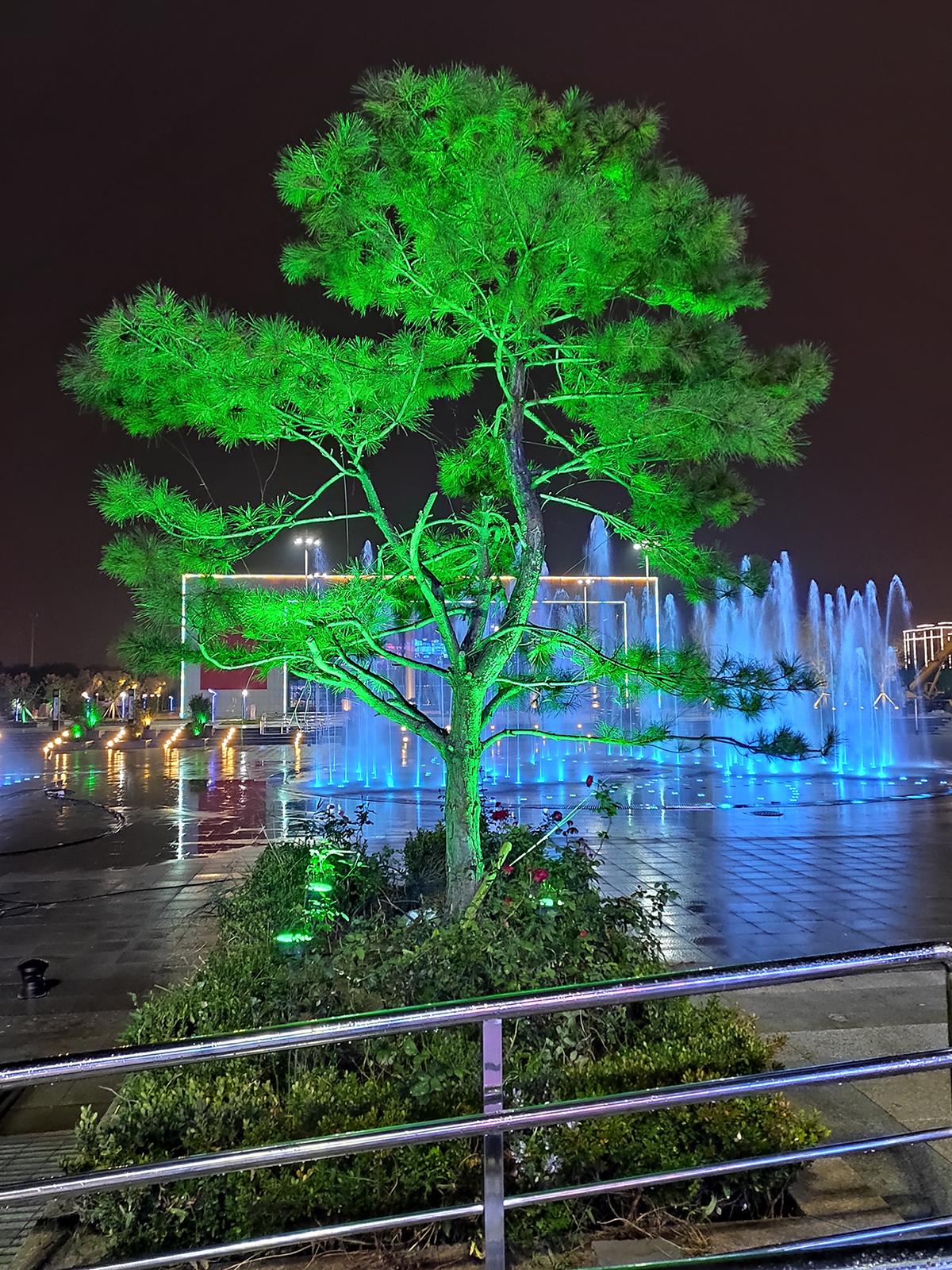 安平文化馆及周边景观亮化项目