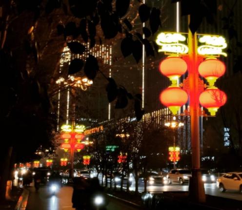 春节氛围营造(灯笼)
