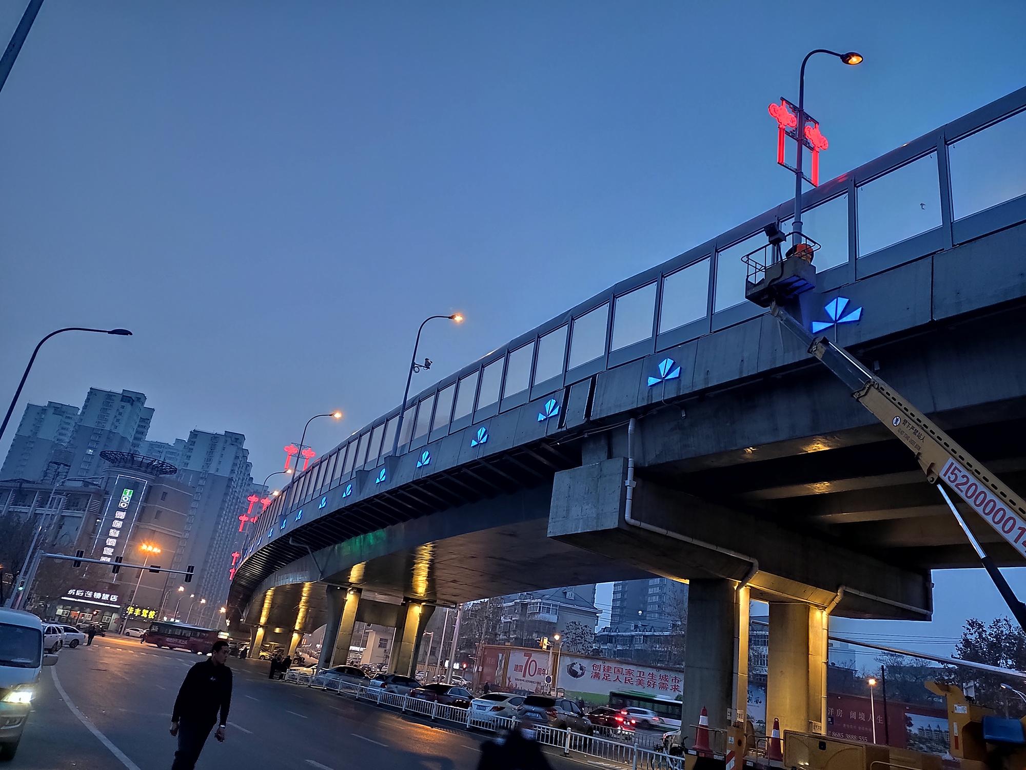 石家庄春节路灯亮化项目